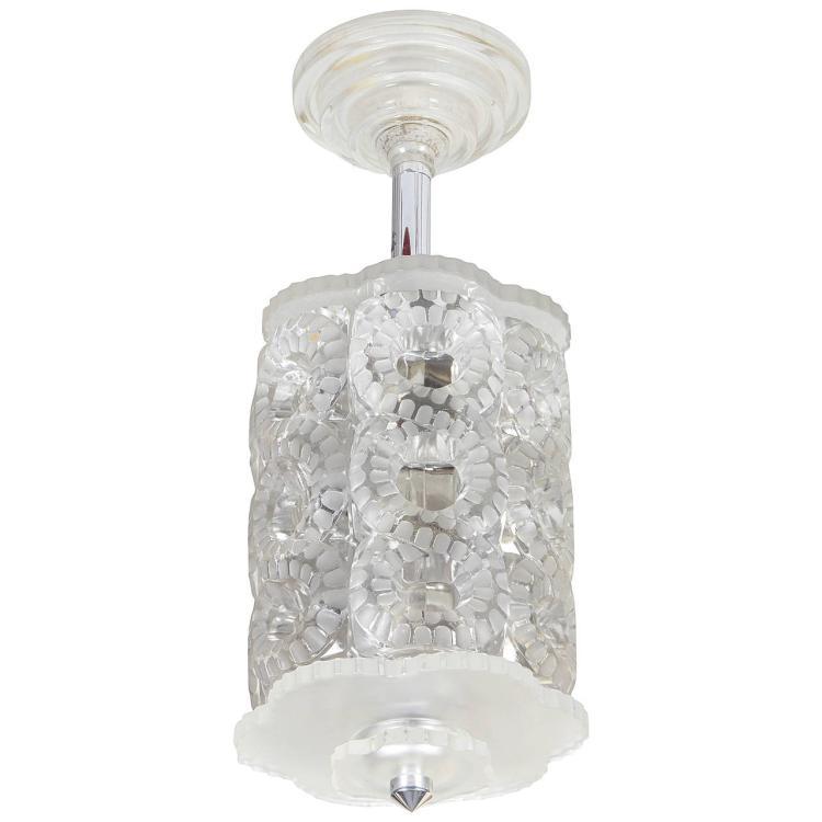 """Lalique Chandelier """"Seville"""""""