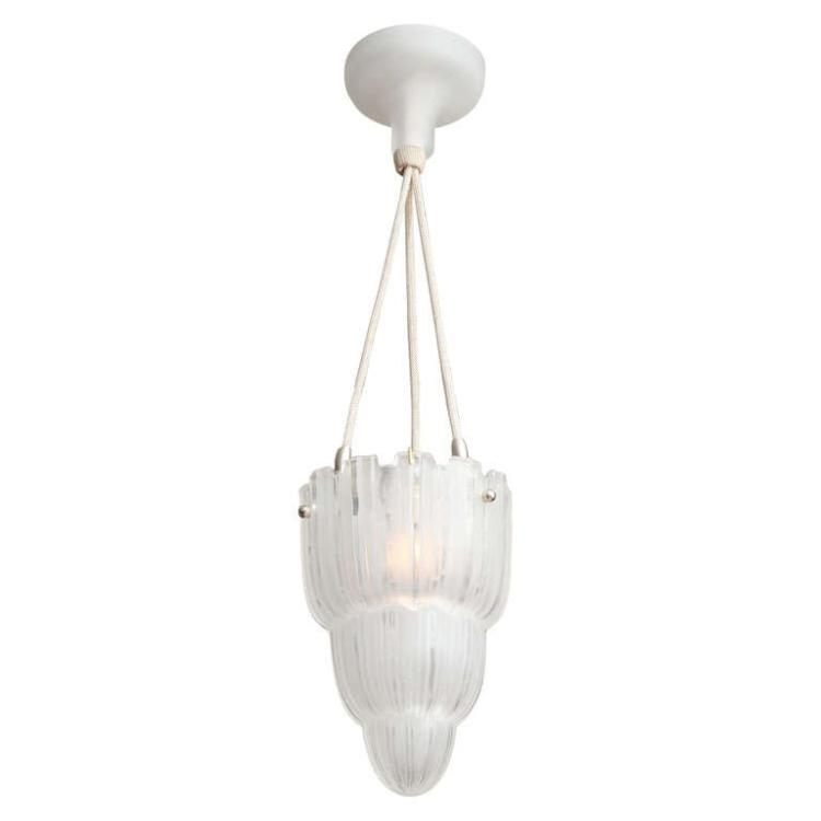 French Art Deco Pendant by Sabino