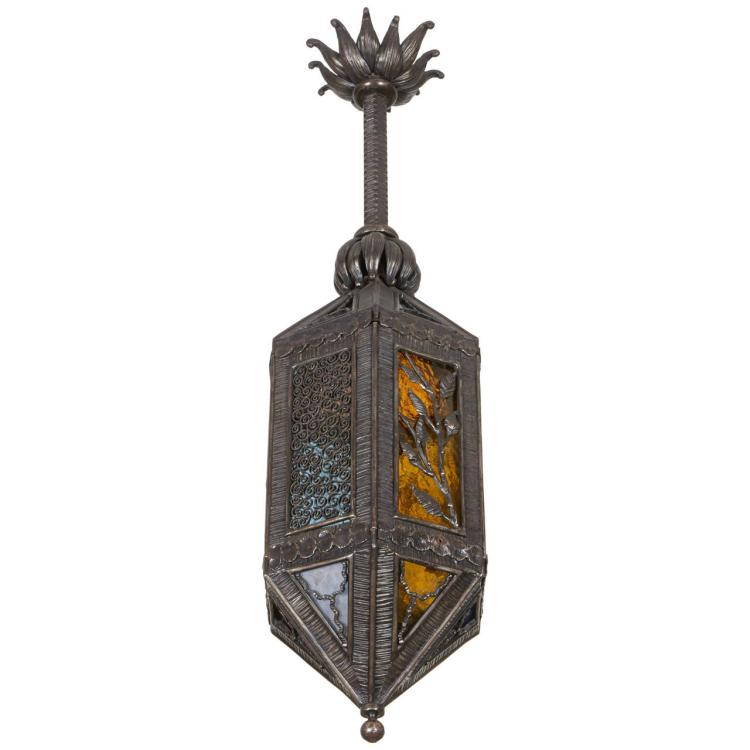 Paul Kiss wrought iron lantern
