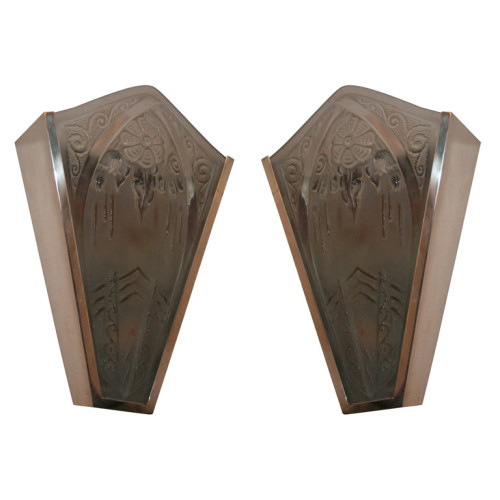 Art Deco Wall Sconces by LORRAIN