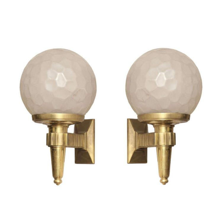 Wall sconces by