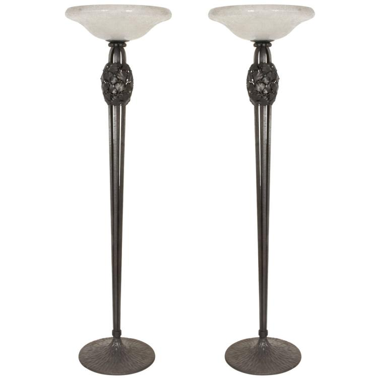 Katona Wrought Iron Floor Lamps