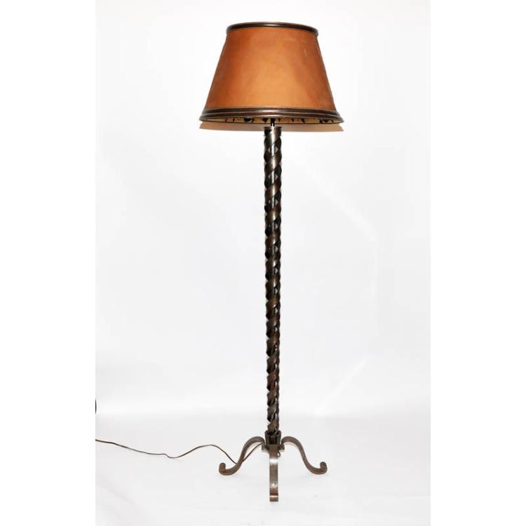 Raymond Subes and Hermes floor lamp