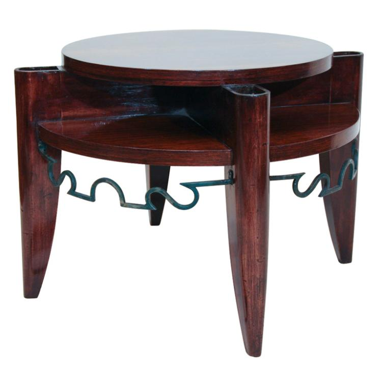 Art Deco Smoking Table by Leon & Maurice Jallot