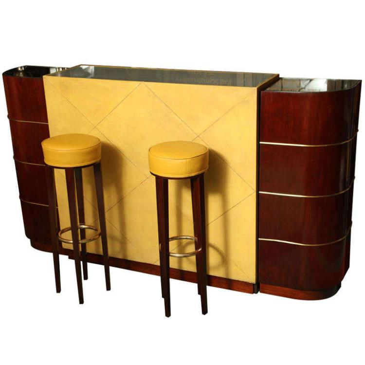 An Exceptional French Art Deco Bar by ANDRE ARBUS