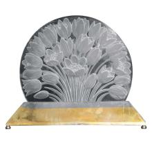 "Rare Luminaire by Rene Lalique, ""Tulipes"""