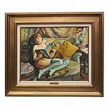 Pierre Cornu, Oil on canvas