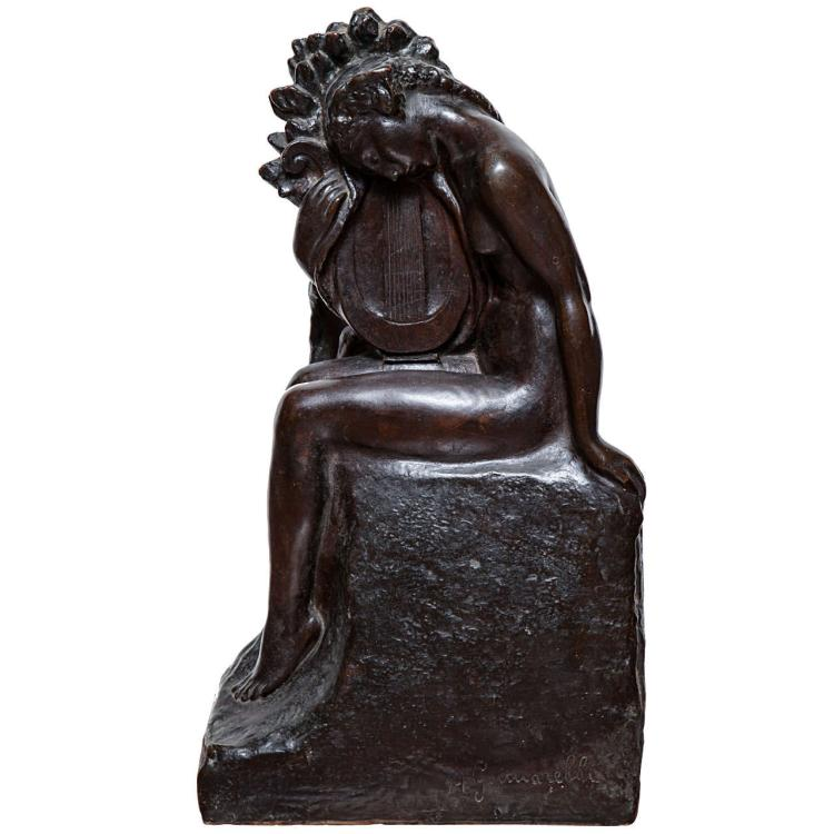 Art Deco Bronze by Amedeo Gennarelli