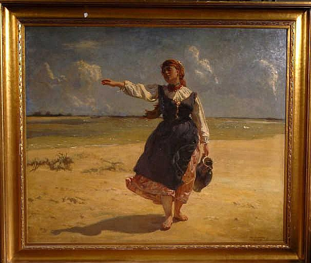JOZEF CHELMONSKI (POLISH, 1849-1914)