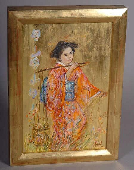 Edna Hibel Artwork For Sale At Online Auction Edna Hibel