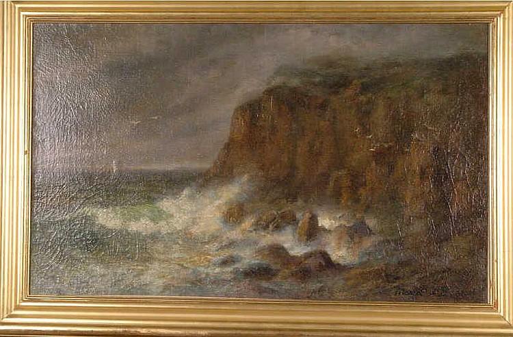 MARIA J.C. A' BECKET (AMERICAN 1840-1904)