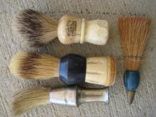 Vintage Shaving Brushes lot.