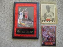 Michael Jordan Collector Card Lot
