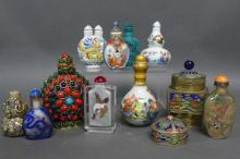Asian Snuff Bottles and Vessels