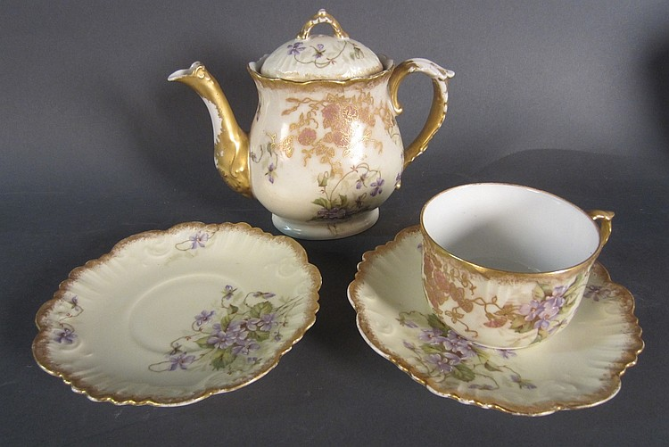 Collection of Antique Limoges Porcelain