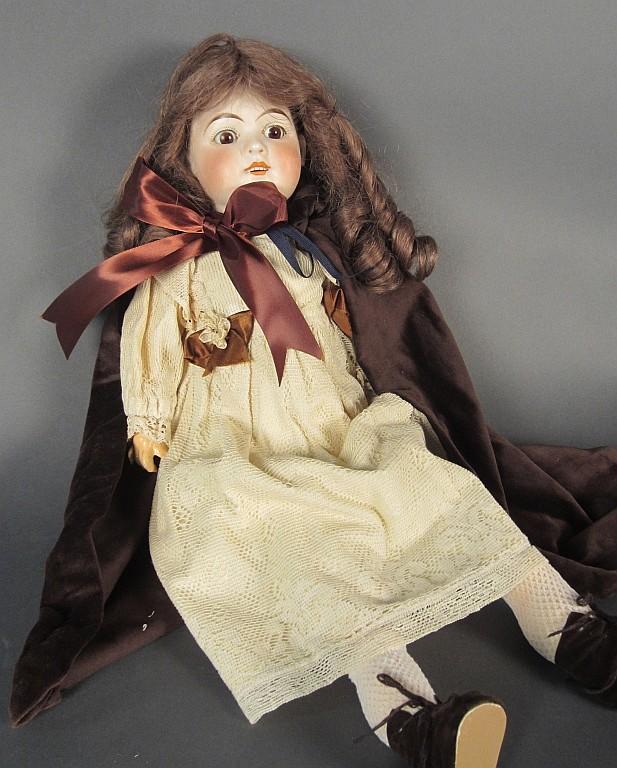 DEP Bisque Head Doll