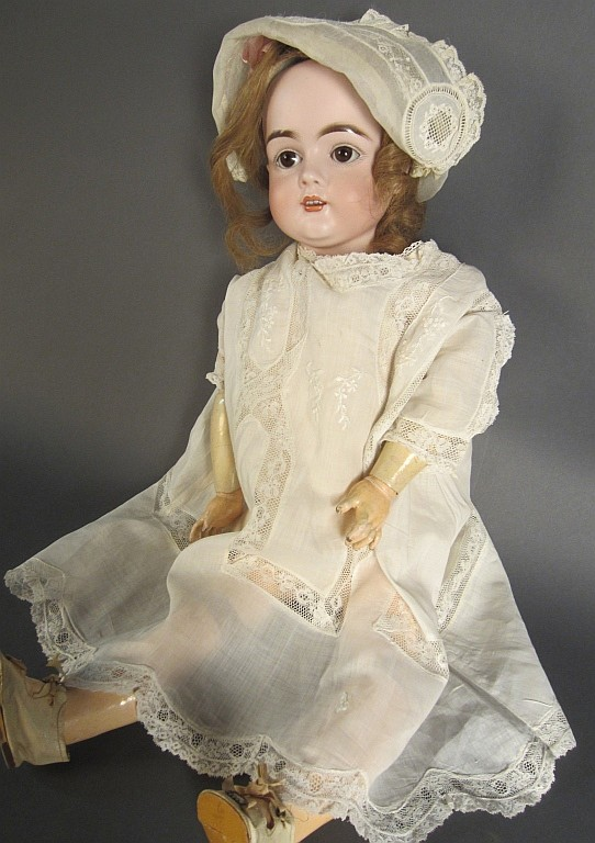 Kesner Bisque Head Doll