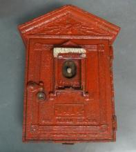 Vintage Cast Iron NYC Fire Alarm Station