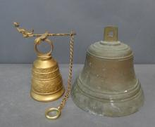 Vintage Bronze and Brass Bells