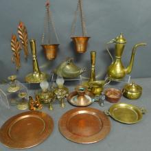 Brass, Copper & Bronze Table Top Accessories