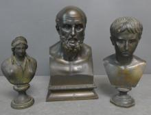 Grand Tour Bronze Bust Grouping