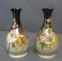 Pair of Art Pottery Vases