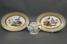 Old Paris Porcelain Aviary Grouping