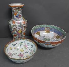Asian Porcelain Grouping