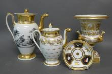 19th Century Old Paris Porcelain Grouping