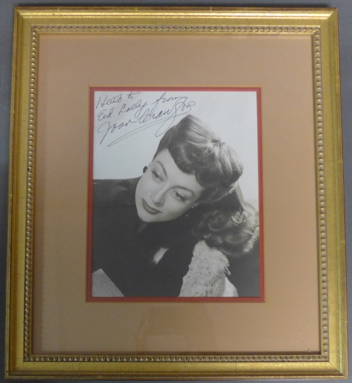 Autographed Photo of Joan Crawford