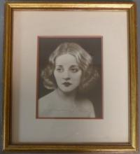 Autographed Photo of Tallulah Bankhead
