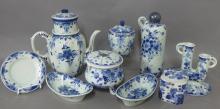 Dutch Delft Blue Regina Porcelain