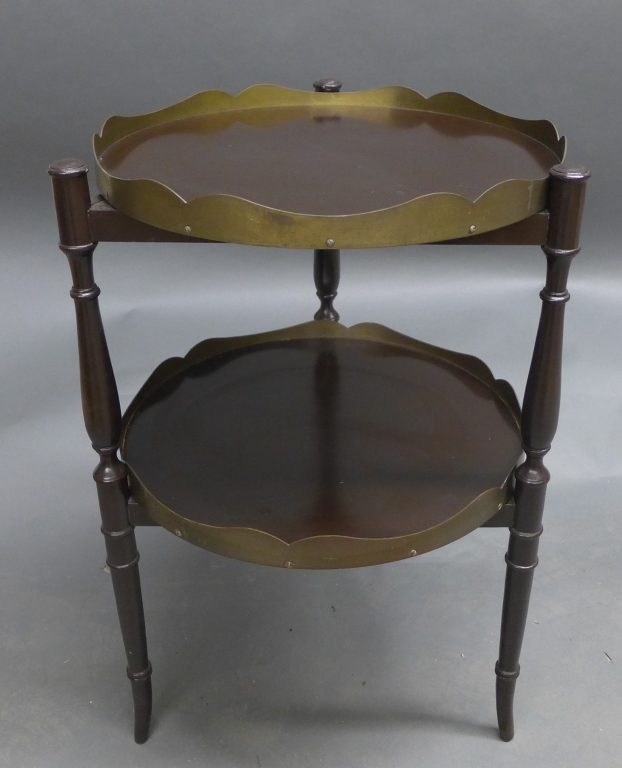 Vintage Double Tray Table