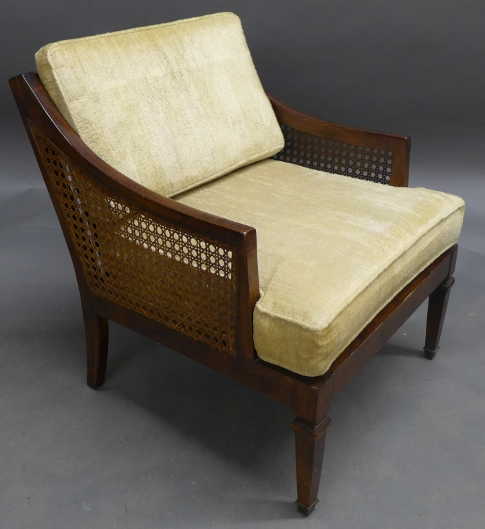 Montgomery Furniture Co Wood Arm Chair