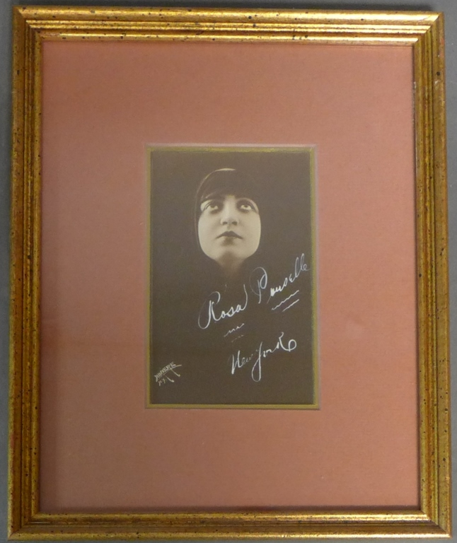 Autographed Photo of Rosa Ponselle