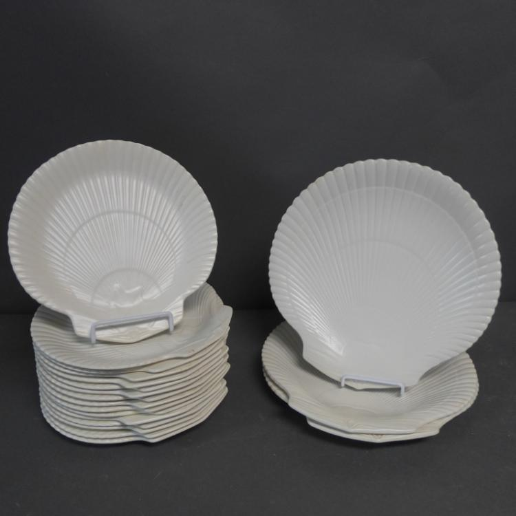 Wedgwood of Etruria & Barlaston Shell Plates
