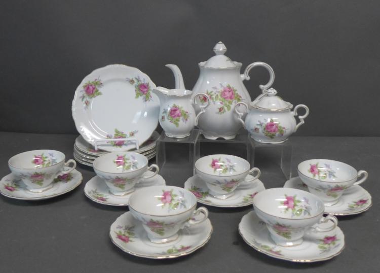 Fine China Tea Service