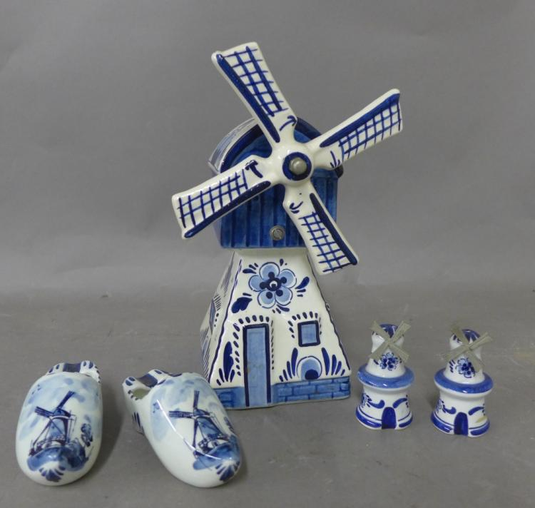 Delft Pottery Grouping