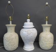 Vintage Table Lamp Grouping