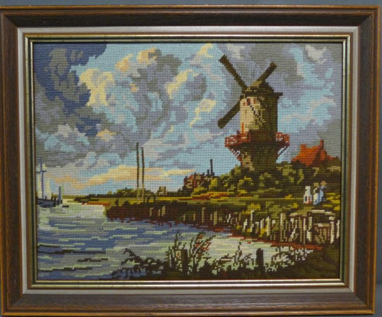 Needlepoint Art: Moulin De Wijk