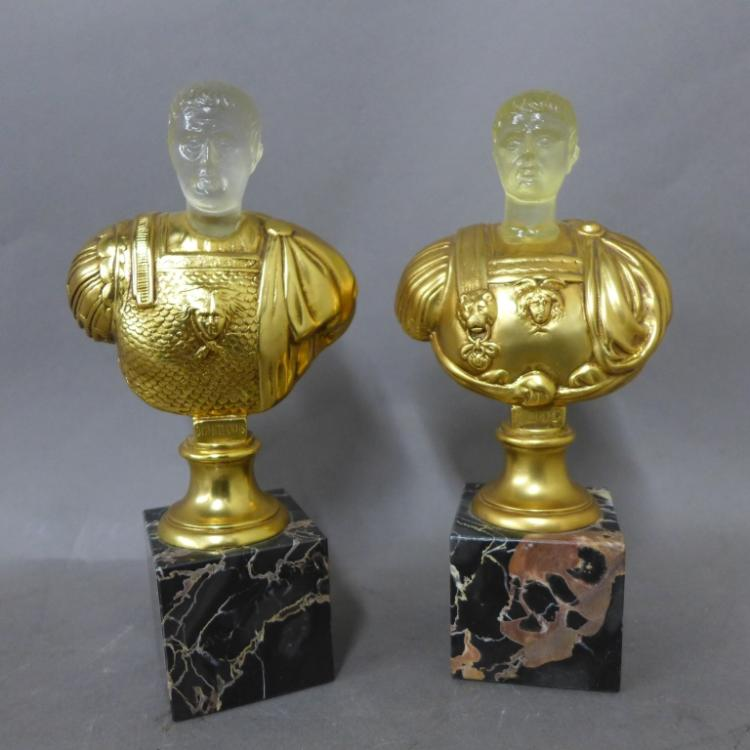 20th Century Roman Emperor Busts