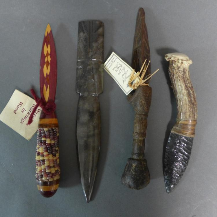Four Daggers and Letter Openers