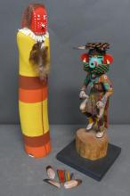 Grouping of Native American Sculpture