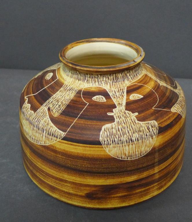 Paul Bellardo Glazed Ceramic Vase