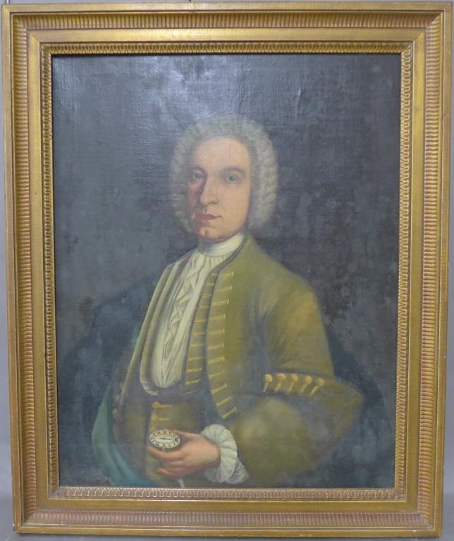 Antique Portrait of a Statesman