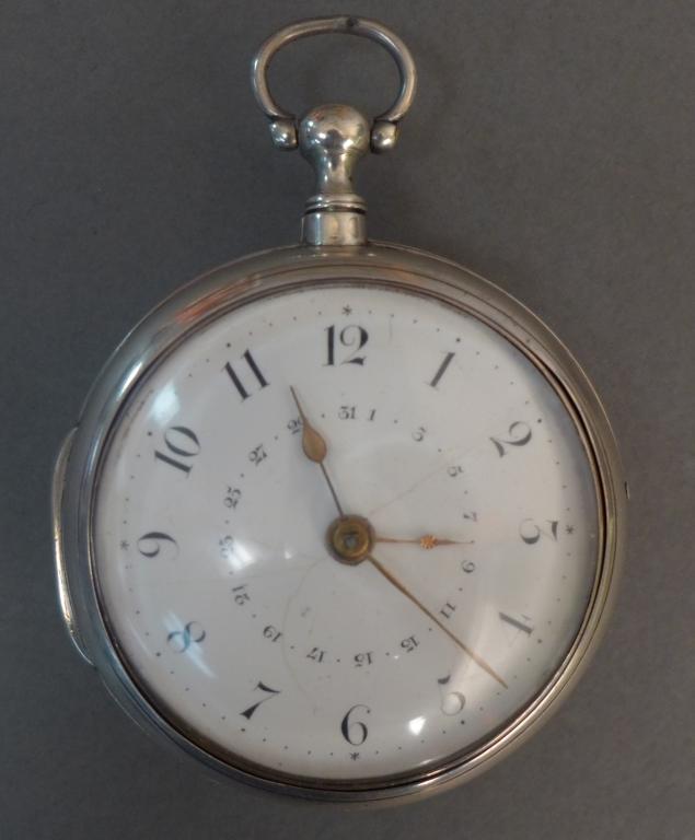 Silver Samuel Moginie, Pimlico Pockt Watch