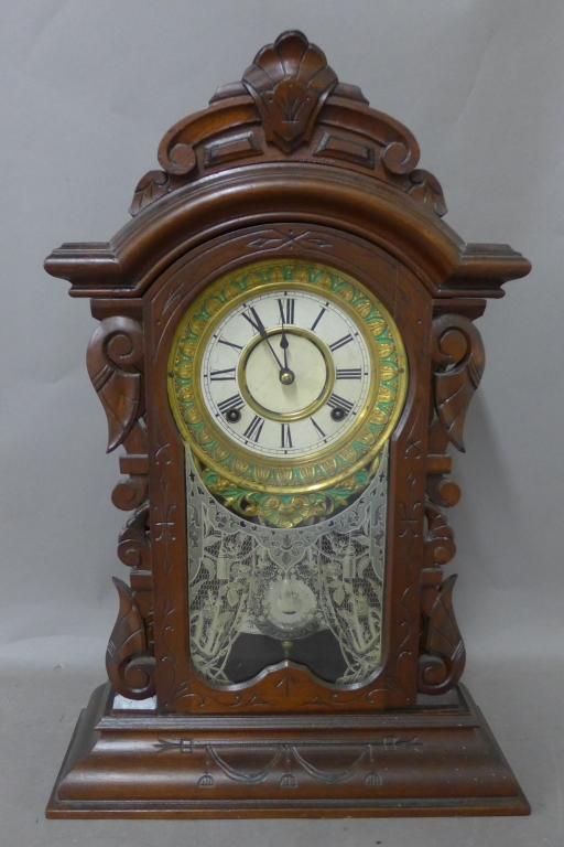Ansonia Eight Day Striking Movement Mantle Clock