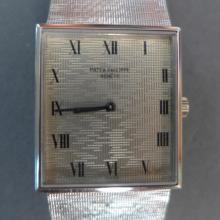 Men's Patek Philippe 18k White Gold Wrist Watch