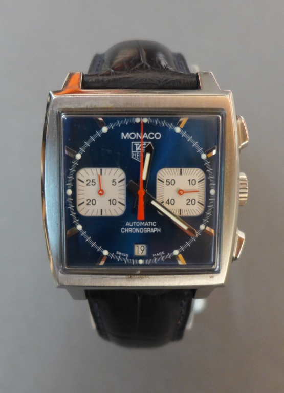 Men's Tag Heuer Monaco Wristwatch