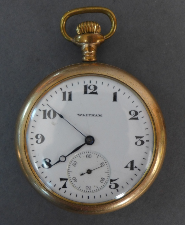 Waltham Open-Face Pocket Watch